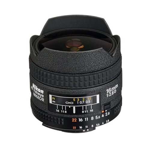 Nikon AF Fisheye-Nikkor 16mm f:2.8D