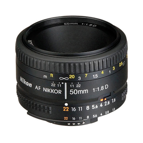 Nikon AF NIKKOR 50mm f-1
